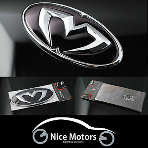 Chrome Edition Emblem Grille Trunk Horn For Hyundai Tucson Ix35 2011 2015