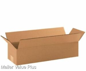 25 24 X 8 X 6 Corrugated Shipping Boxes Packing Storage Cartons Cardboard Box
