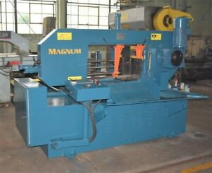 25 5 X 13 8 Magnum bs 650g Automatic Mitering Horizontal Band Saw 28364