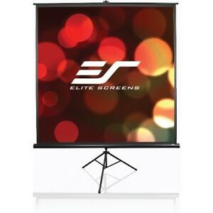 New Elitescreens T100uwh Tripod Projection Screen 100in Portable 4 3