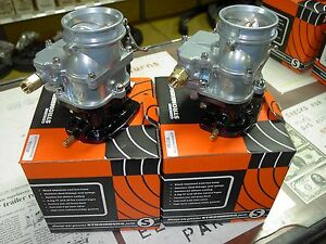 2 Brand New 1932 Ford Roadster Coupe Flathead Stromberg 97 Carb Carburetors