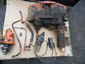 1958 Allis Chalmers D17 Gas Farm Tractor Power Steering Assembly works Good