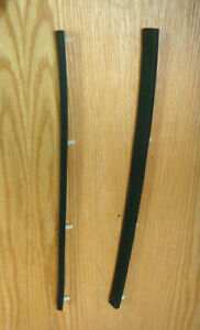 1955 1956 1957 Chevy Door Pillar Weatherstrips Pair With Clips Usa Made