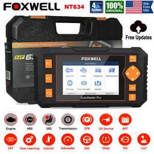 Launch Cr8021 Abs Srs Scanner Oil Reset Epb Tpms Brt Dpf Obdii Diagnostic Tool