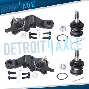 Upper Lower Ball Joint Kit For Toyota Tacoma 4wd2wd Ball Joints Suspension Kits