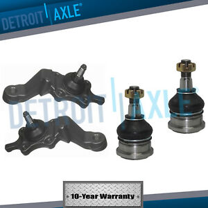 Upper Lower Ball Joint Left Right For 1995 1996 1997 1998 Toyota Tacoma 4wd