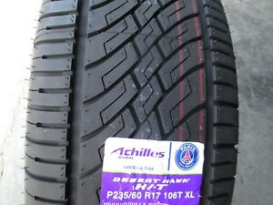 4 New 235 60r17 Xl Achilles Desert Hawk H t Tires 2356017 60 17 R17 60r