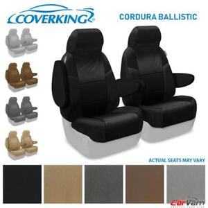 Coverking Cordura Ballistic Front Seat Covers For Chevy Express 1500 2500 3500