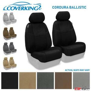 Coverking Cordura Ballistic Front Custom Seat Covers For 2010 12 Toyota Tacoma