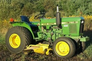 John Deere 750 Compact Tractor 60 Inch Mower Deck W 3 Point Hitch 540 Pto