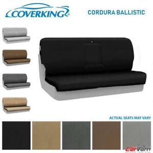 Coverking Cordura Ballistic Front Custom Seat Cover For 2010 2011 Toyota Tacoma