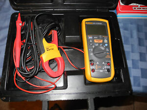 Fluke 1587 Fc Insulation Multimeter W I400 Ac Current Clamp