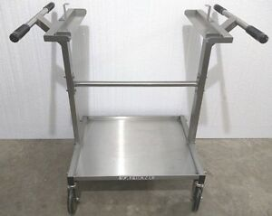 Welch Allyn Scale tronix 4802 4800 Pediatric Infant Baby Stainless Scale Cart