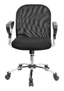 Contemporary Mid back Office Chair W Caster Wheels id 20437