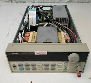 Agilent 6612c 20v 2a System Dc Power Supply As is Parts Unit