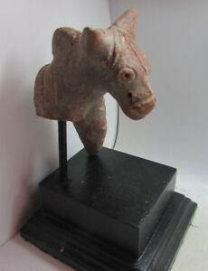Circa 2500bce Ancient Indus Valley Terracotta Animal Statuette Very Rare