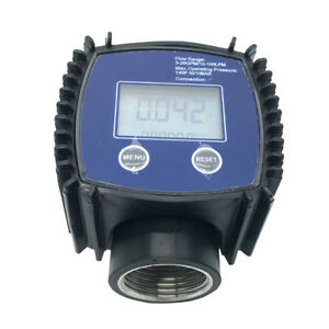 1 Inch K24 Digital Turbine Flow Meter Water Stainless Steel Screw Flowmete