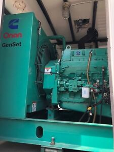 Cummins Onan Generator Lta10 g1 179 Hour 230kw 277 480v Enclosed Smart Power