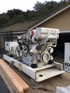 Marine 2010 John Deere 6081afm75 Kohler Generators Many Extras Low Hours 50 60hz