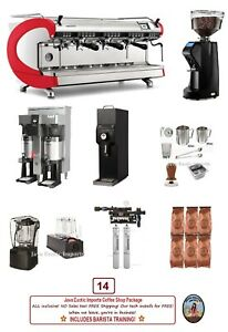 Simonelli Digit 3 Group Commercial Espresso Coffee Package Install Training