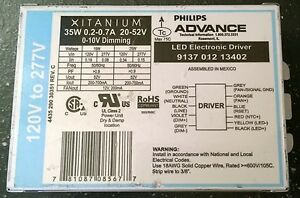 Philips 913701213402 Xitanium Led Dimming Driver 20 52vdc 35w Dimmable