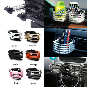 Universal Car Air Vent Metal Drink Bottle Cup Holder Stand Mount Mount Bracket