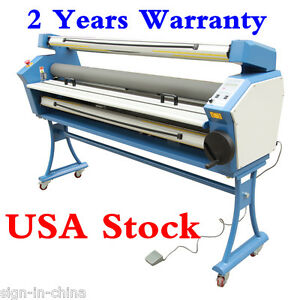 110vupgrade 63 Full auto Low Temp wide Format Cold Laminator With Heat Assisted