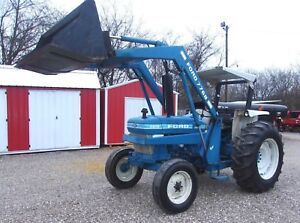 Ford 4610 Tractor Loader dual Remotes Can Ship 1 85 Loaded Mile