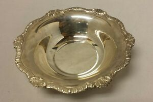 Silverplate Candy Dish A 1 England Serving Bowl Silver Plate A 1