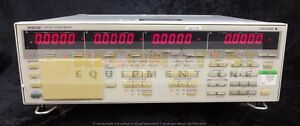 Yokogawa 2531 Digital Power Meter W calibration Certificate Dated 3 19 18
