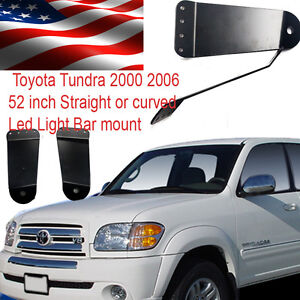 Fits Toyota Tundra 52 Inch Curved Led Light Bar Mount Bracket 2000 2006