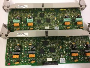 Lot Of 2 Nortel Nt7b75ga 93 Rel03 Ls ds Trunk Card For Cics
