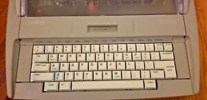 Brother Sx 4000 And Ml300 Two Electronic Typewriters Word Processors Need Work