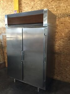 Commercial Two Door Stainless Steel Refrigerator