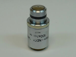 Zeiss Plan neofluar 100x 1 30 0 17 Oil Microscope Objective Pn 440480