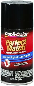 Duplicolor Black Metallic Toyota Touch up Paint Code 040 8 Oz Bty1566