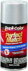Duplicolor Classic Silver Mica Toyota Touch up Paint Code 040 8 Oz Ebty16177