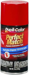 Duplicolor Super Red Ii Toyota Touch up Paint Code 040 8 Oz Bty1560