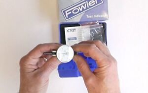 Fowler Full Warranty 52 562 001 0 Horizontal White Dial X test Indicator 0 060