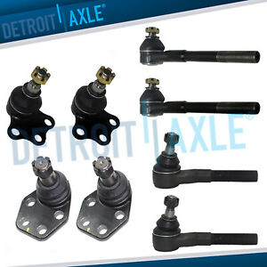 Front Inner Outer Tierod Ball Joint For 2000 2001 2002 Dodge Ram 2500 3500 2wd