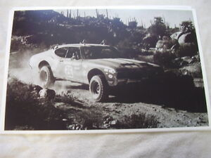 1970 Oldsmobile 442 Mexican Road Race Baja 11 X 17 Photo Picture