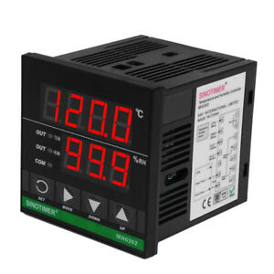 Digital Temperature And Humidity Controller Fr Greenhouse Incubation Led Display