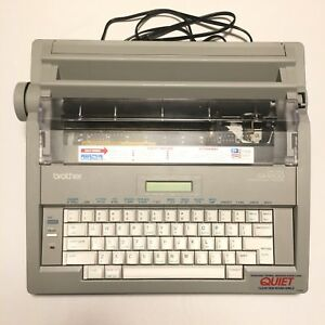 Brother Gx 8500 Typewriter Electric Correctronic Word Processor Tested Key Cover
