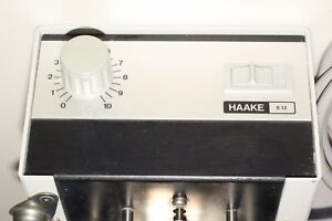 Haake E12 Heater Heating Water Bath Circulator Mixer E 12
