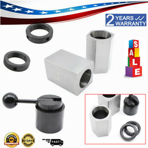 5c Collet Block Chuck Set Square Hex Acting Rings Collet Closer Holder Lathe