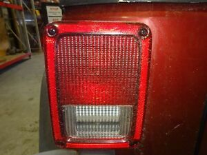 Oem Driver s Left Side Tail Light 2008 Jeep Wrangler Unlimited