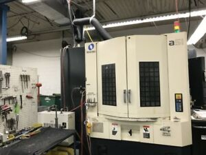 A51 Makino 4 axis Contouring Cnc Horizontal Machining Center 28407