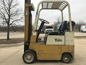 Yale 2500 Pound Lpg propane Budget Forklift we Will Ship l k