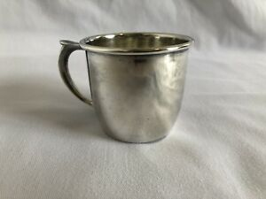 Vtg Antique 1847 Rogers Bros Silver Plated Nursery Baby Cup