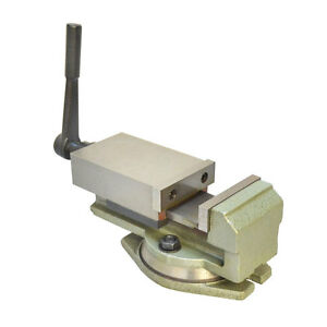 3 Milling Lock Vise Precision Drilling Machine W Swivel Base Bench Clamp